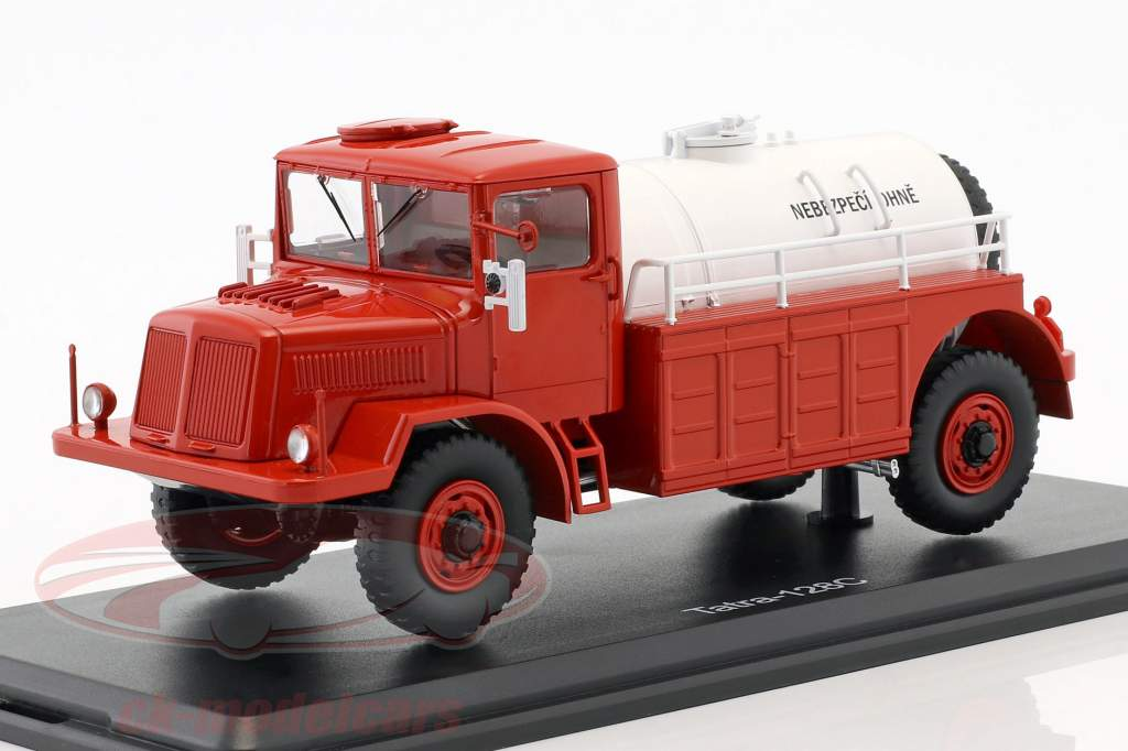 Tatra 128C petroleiro ano de construção 1951 vermelho / branco 1:43 Premium ClassiXXs