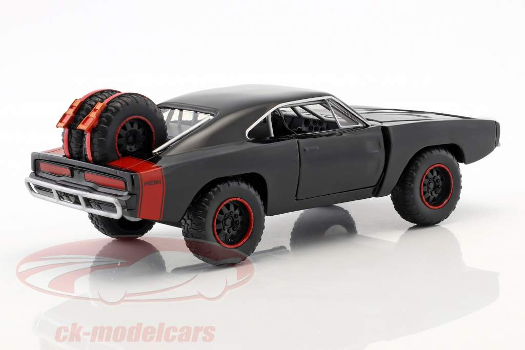 Dodge Charger R/T Offroad Anno 1970 Fast and Furious 7 nero 1:24 Jada Toys