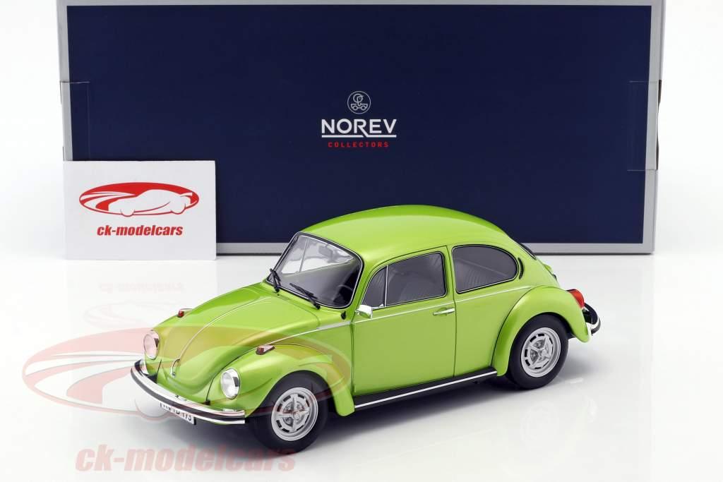Volkswagen VW scarafaggio 1303 anno di costruzione 1972 verde metallico 1:18 Norev