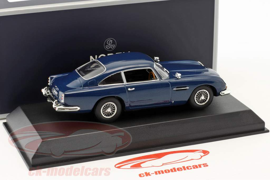 Aston Martin DB5 coupe year 1964 night blue 1:43 Norev