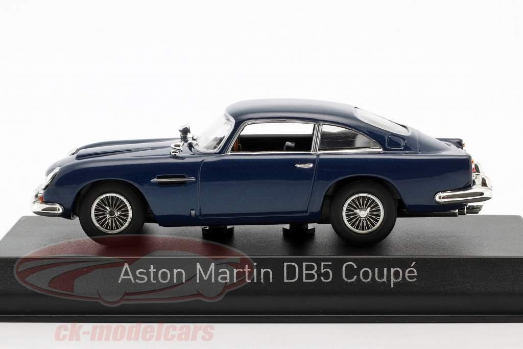 Aston Martin DB5 coupe año de construcción 1964 noche azul 1:43 Norev