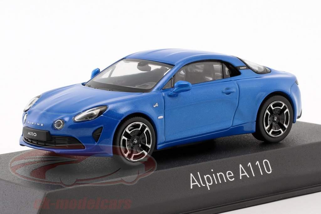 Alpine A110 Legende año de construcción 2018 alpine azul 1:43 Norev