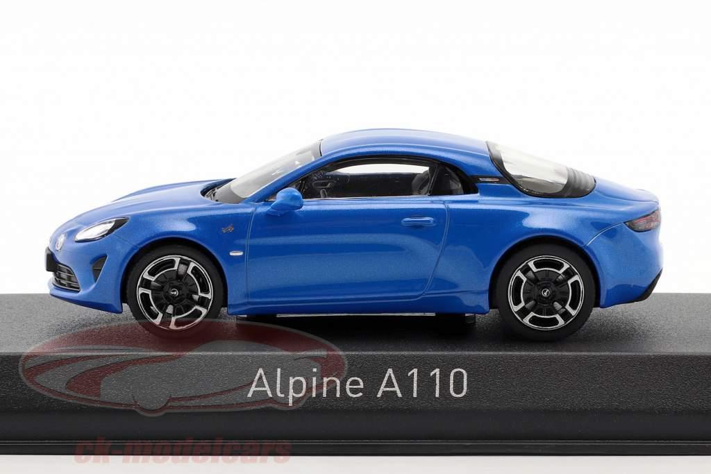 Alpine A110 Legende Opførselsår 2018 alpine blå 1:43 Norev