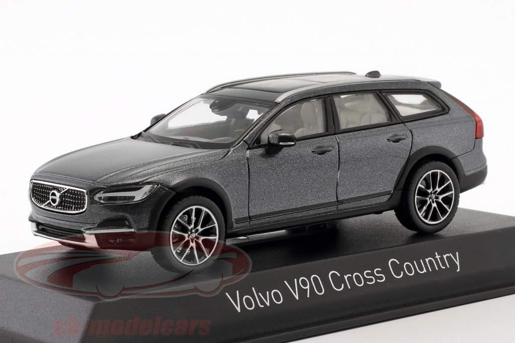 Volvo V90 Cross Country year 2017 savile grey 1:43 Norev