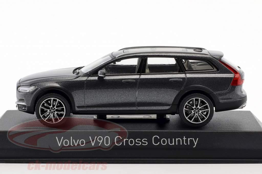 Volvo V90 Cross Country Opførselsår 2017 Savile grå 1:43 Norev