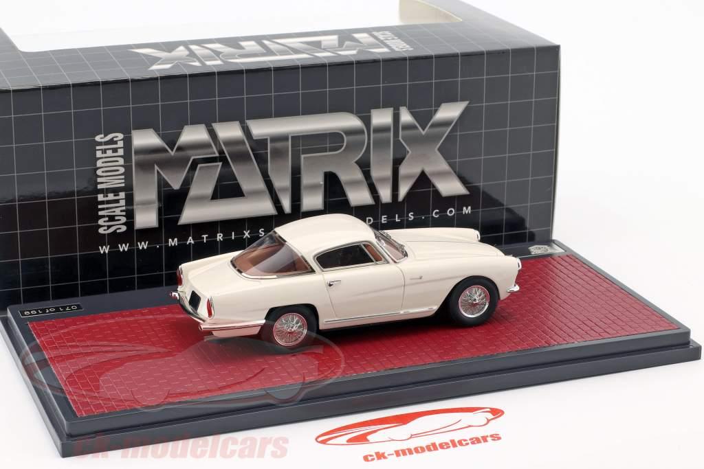 Aston Martin DB2/4 Coupe Bertone Arnolt año de construcción 1953 blanco 1:43 Matrix