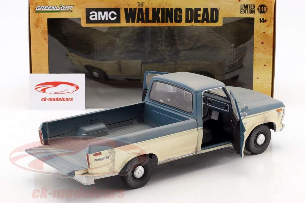Ford F-100 Pick-Up ano de construção 1973 série de TV The Walking Dead (desde 2010) 1:18 Greenlight