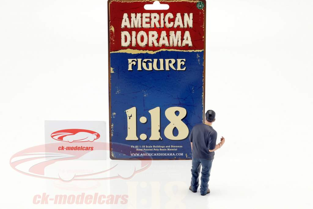Hanging Out 2 Juan cifra 1:18 American Diorama