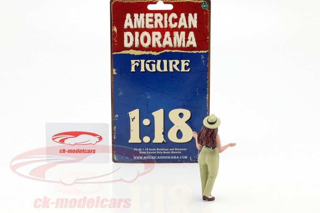 Hanging Out 2 Tanya cifra 1:18 American Diorama