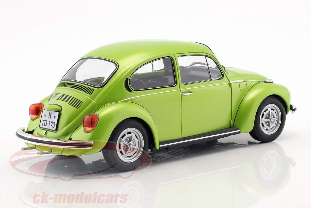 Volkswagen VW kever 1303 Bouwjaar 1972 groen metalen 1:18 Norev