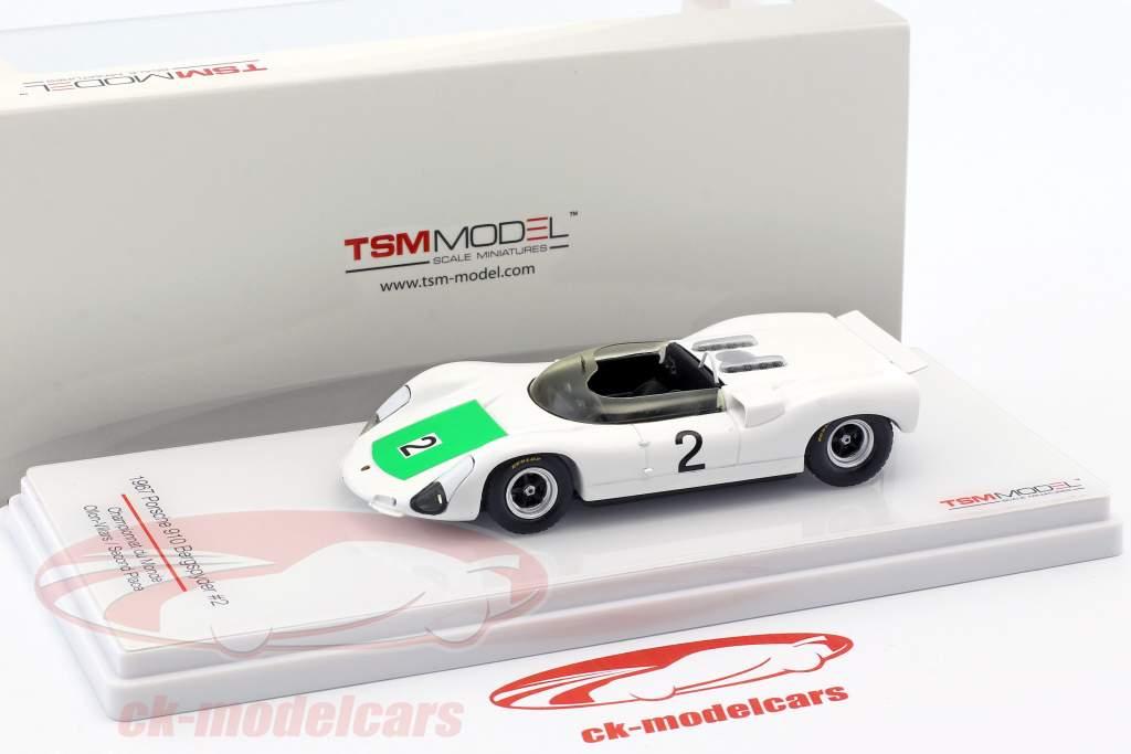 Porsche 910 Bergspyder #2 2e Championnat du Monde Ollon-Villars 1967 1:43 TrueScale