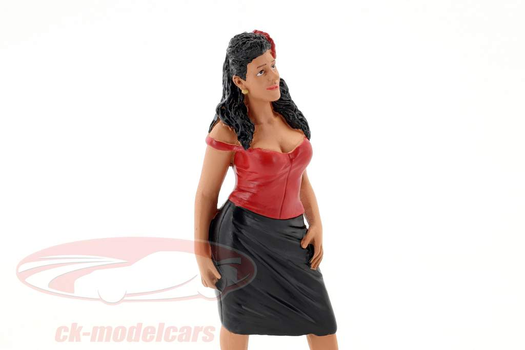 Hanging Out 2 Rosa figura 1:18 American Diorama