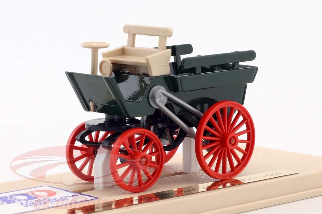 Delamare Deboutteville et Malandin anno di costruzione 1884 verde / beige / rosso 1:43 Eligor