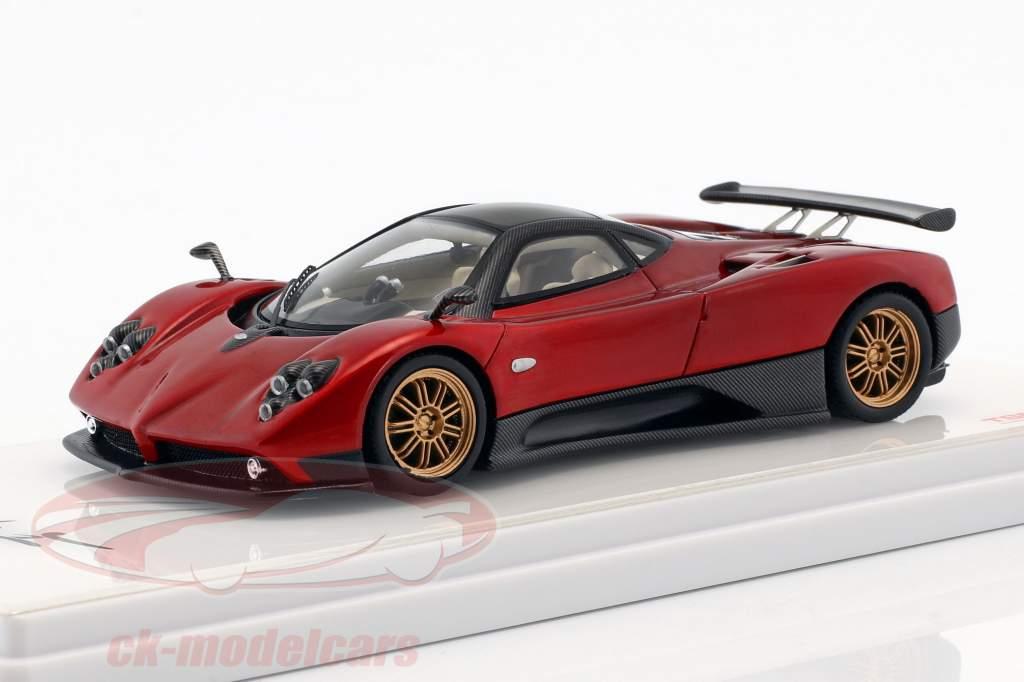 Pagani Zonda F anno di costruzione 2006 Dubai rosso 1:43 TrueScale