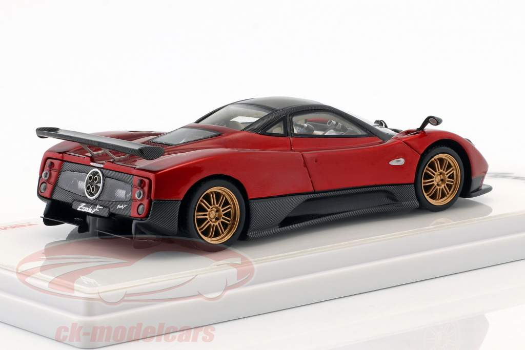 Pagani Zonda F Construction year 2006 Dubai red 1:43 TrueScale