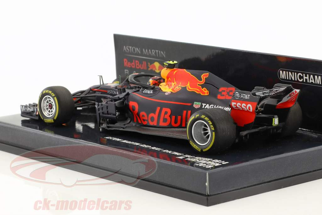 Max Verstappen Red Bull Racing RB14 #33 fórmula 1 2018 1:43 Minichamps