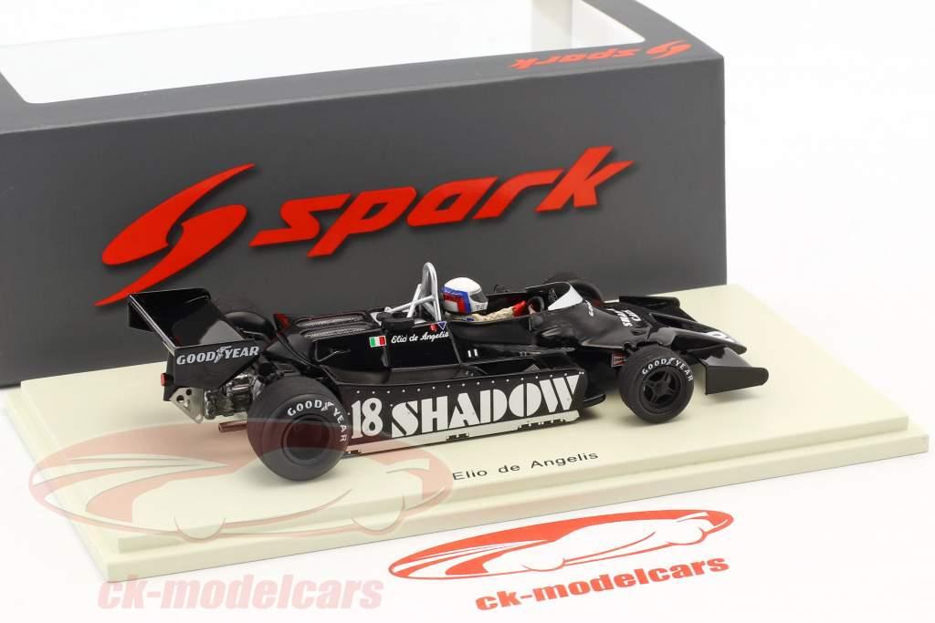 Elio de Angelis Shadow DN9 #18 4ª EUA leste GP fórmula 1 1979 1:43 Spark