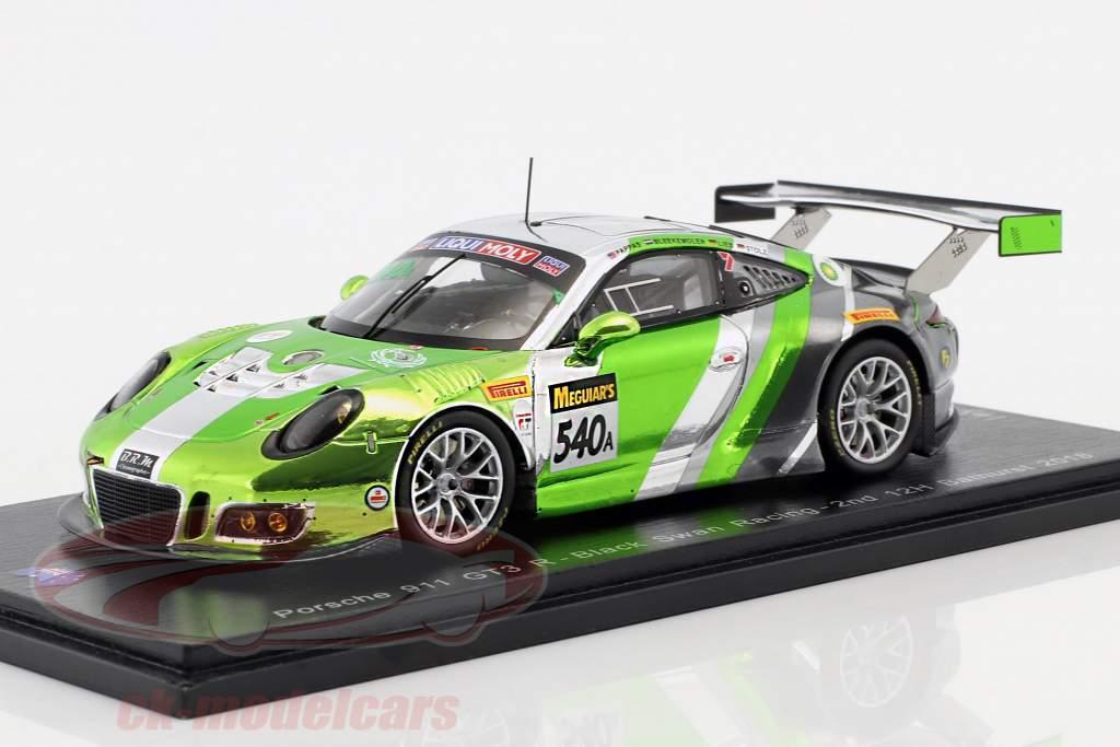 Porsche 911 GT3 R #540 3e 12h Bathurst 2018 Pappas, Bleekemolen, Stolz, Lieb 1:43 Spark