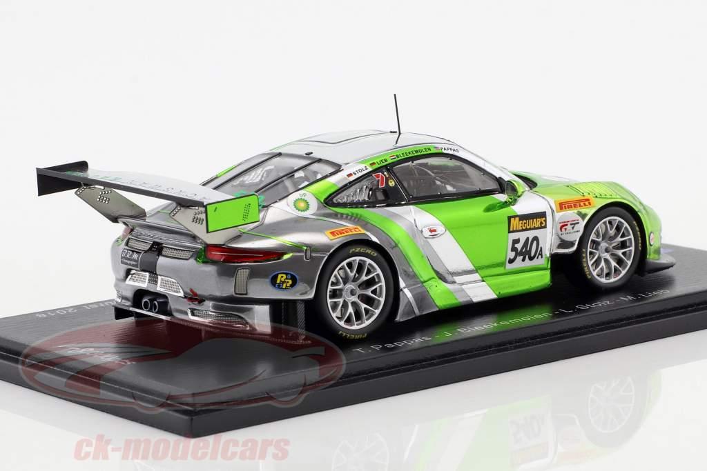 Porsche 911 GT3 R #540 3ª 12h Bathurst 2018 Pappas, Bleekemolen, Stolz, Lieb 1:43 Spark