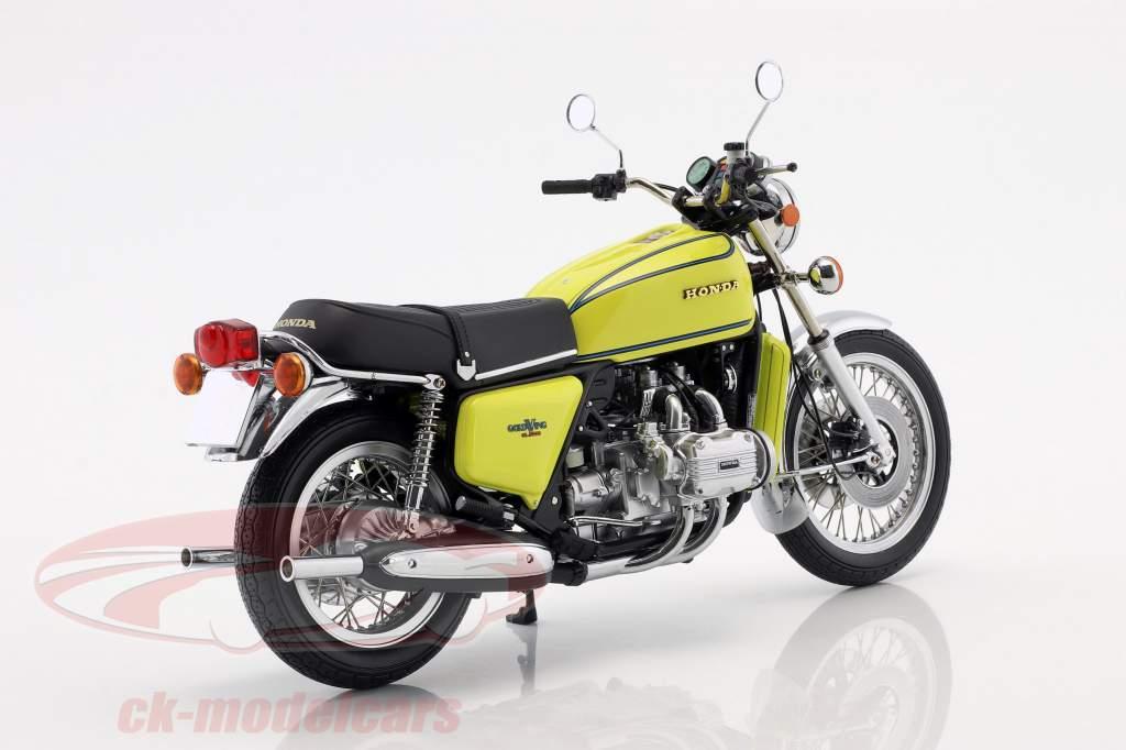 Honda Goldwing GL 1000 K3 ano de construção 1975 amarelo 1:12 Minichamps