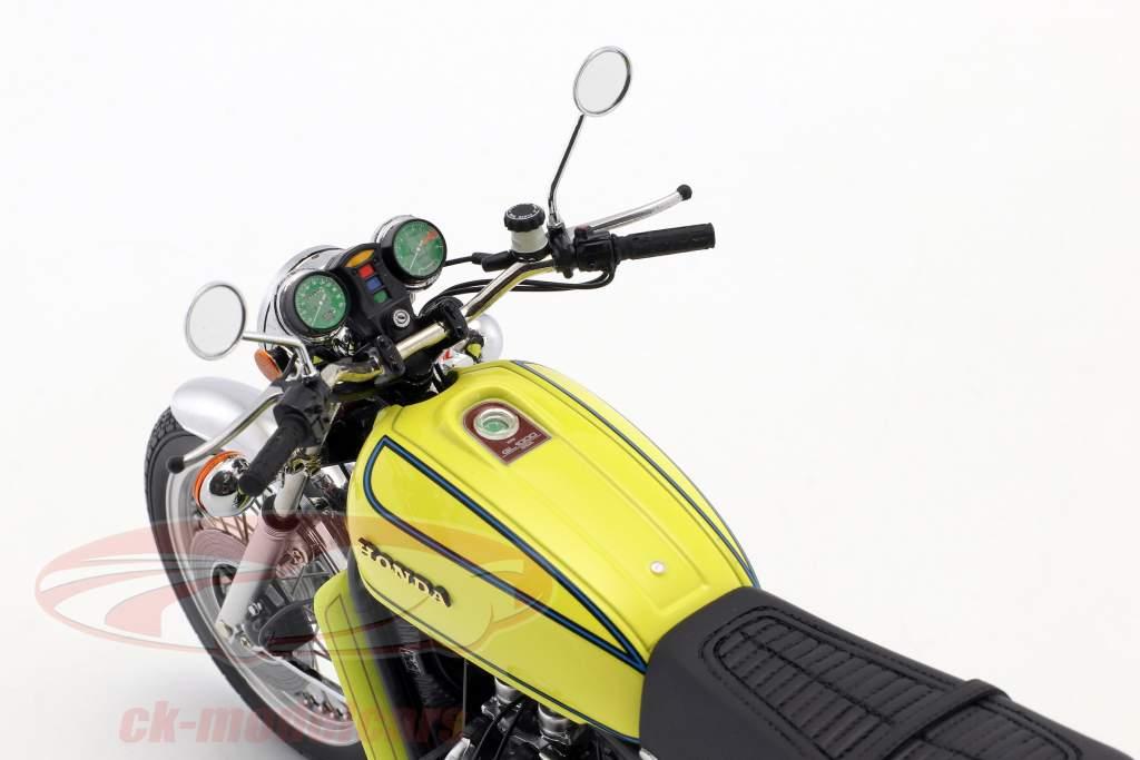 Honda Goldwing GL 1000 K3 Opførselsår 1975 gul 1:12 Minichamps