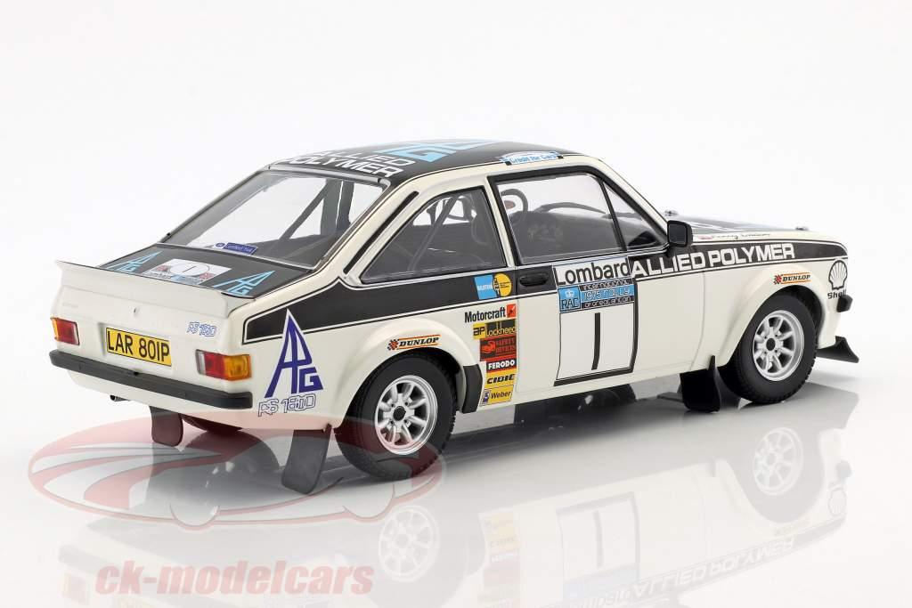 Ford Escort RS 1800 #1 vincitore RAC Rallye 1975 Mäkinen, Liddon 1:18 Minichamps