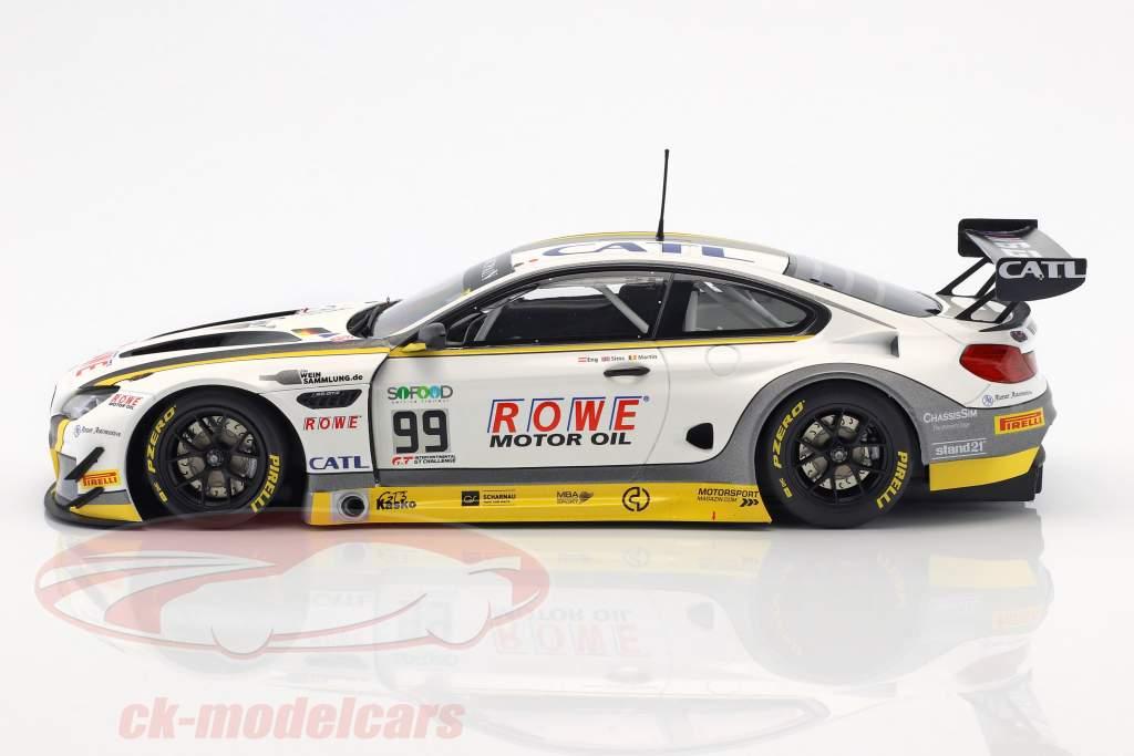 BMW M6 GT3 #99 24h Spa 2017 Eng, Sims, Martin 1:18 Minichamps