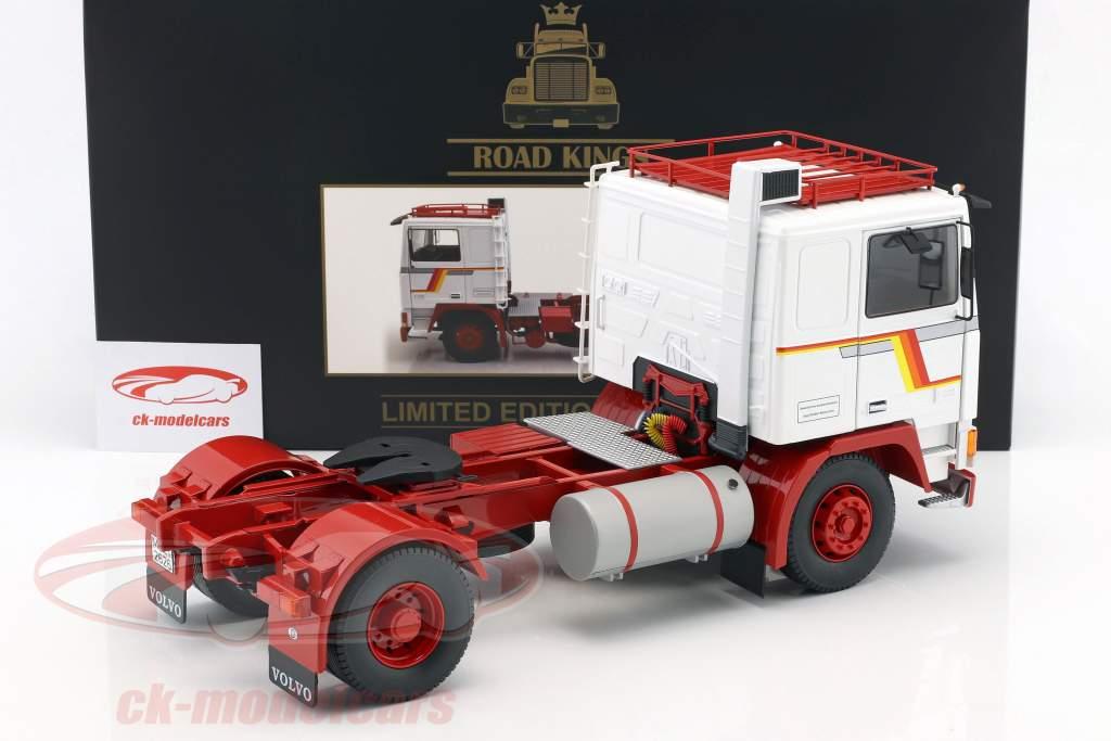 Volvo F12 tractor año de construcción 1977 blanco / rojo 1:18 Road Kings