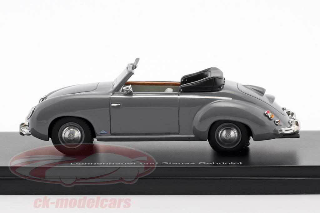 Volkswagen VW Dannenhauer und Stauss cabriolé año de construcción 1951 gris 1:43 Neo