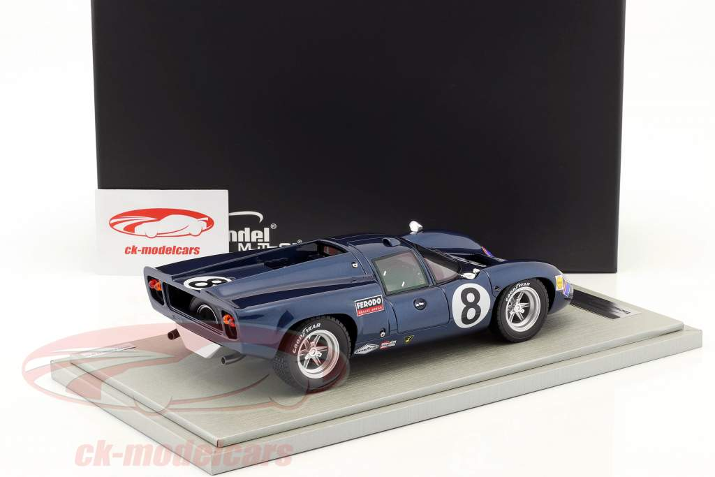 Lola T70 MK3 #8 2 ° 24h Daytona 1969 Leslie, Motschenbacher 1:18 Tecnomodel