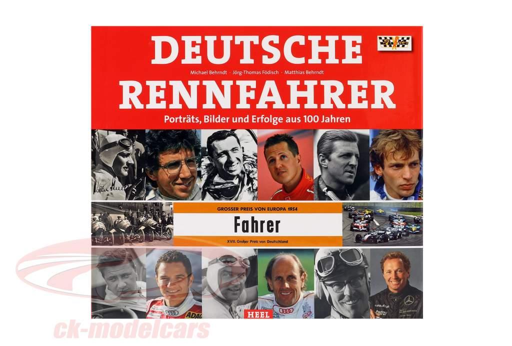 Boek: 100 Jaar Duitse Renner Portretten, Foto's en Prestaties