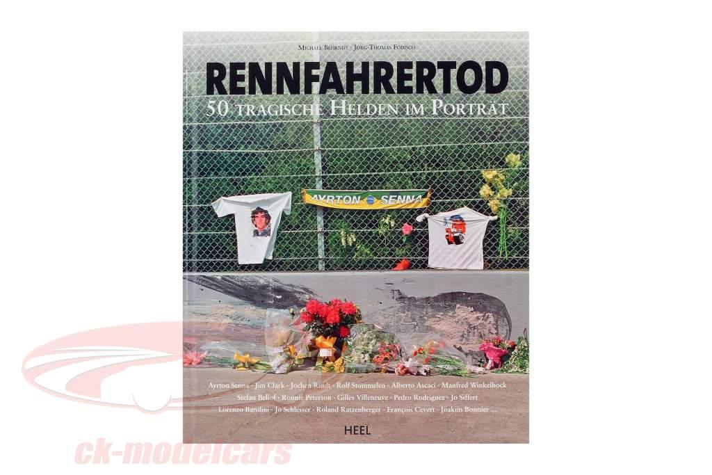 livre: racer mort 50 tragique héros dans le portrait de M. Behrndt et J. Födisch