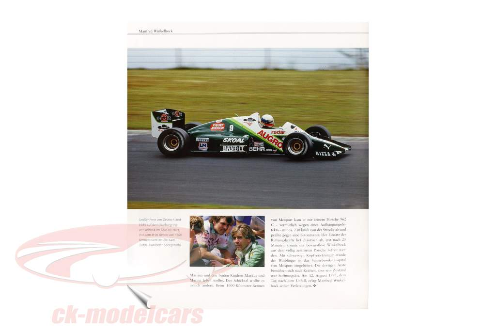 Book: racer death 50 tragic heroes in the portrait from M. Behrndt and J. Födisch