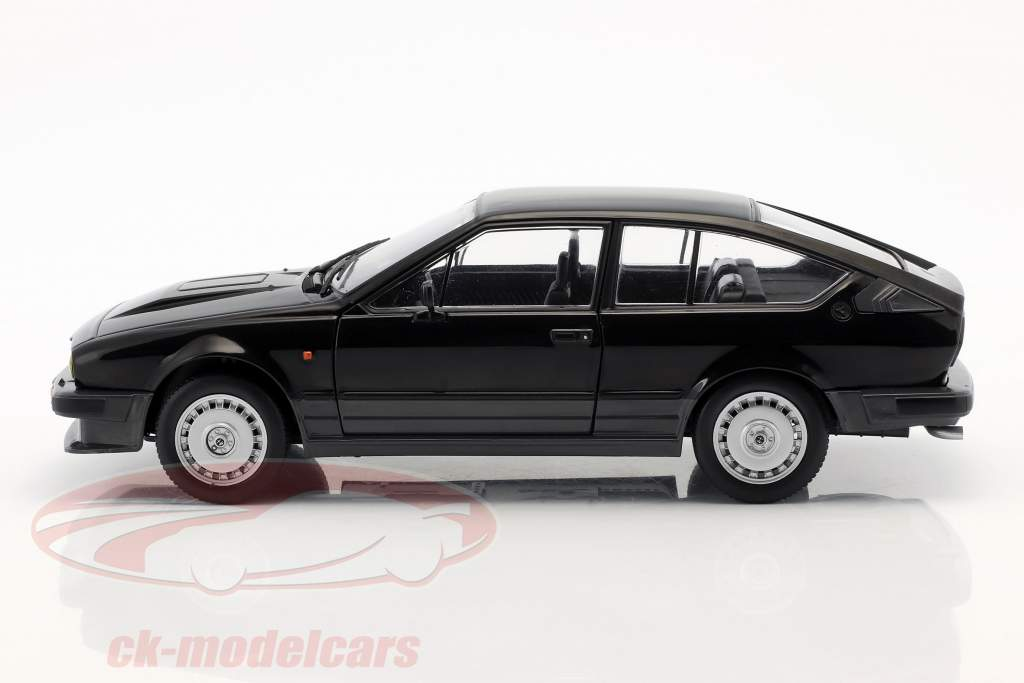 Alfa Romeo GTV6 year 1984 black 1:18 Solido