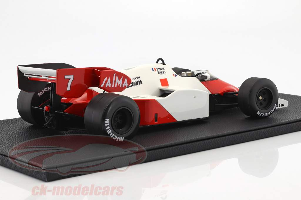 Alain Prost McLaren MP4/2 #7 fórmula 1 1984 1:12 GP Replicas