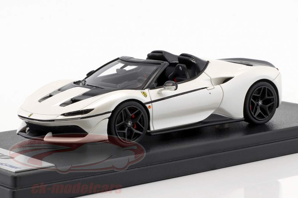 Ferrari J50 Roadster year 2016 liana white 1:43 LookSmart