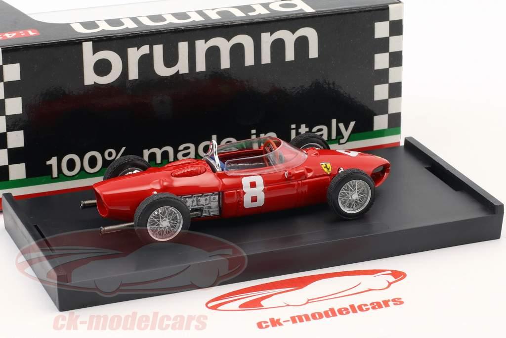 Ricardo Rodriguez Ferrari 156 #8 italiensk GP formel 1 1961 1:43 Brumm