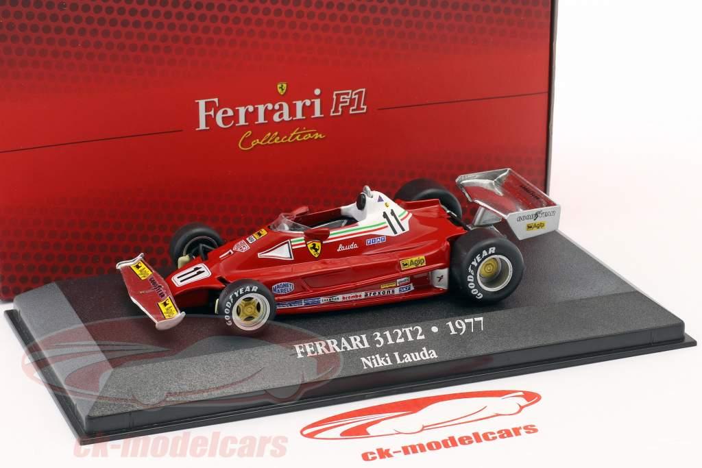 Niki Lauda Ferrari 312T2 #11 verdensmester formel 1 1977 1:43 Atlas