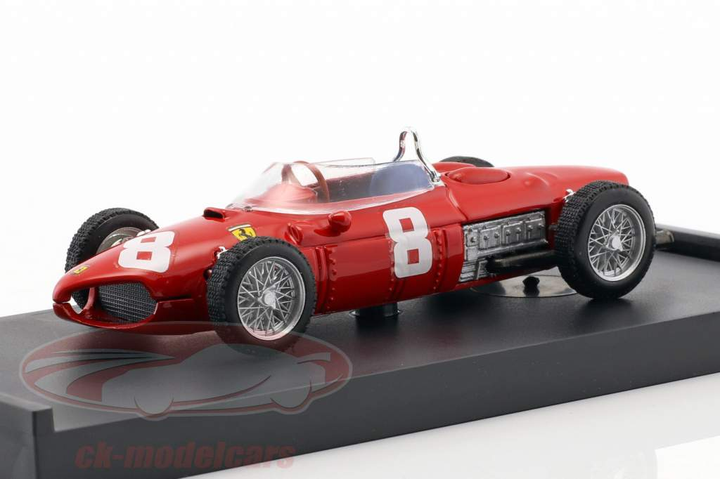 Ricardo Rodriguez Ferrari 156 #8 italiano GP fórmula 1 1961 1:43 Brumm