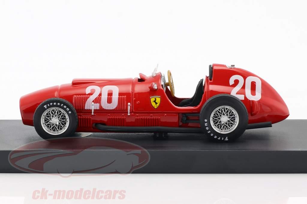 Alberto Ascari Ferrari 375 #20 Svizzera GP formula 1 1951 1:43 Brumm