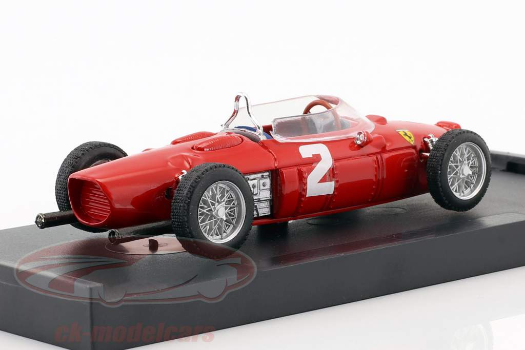 Phil Hill Ferrari 156 F1 #2 world champion Italy GP formula 1 1961 1:43 Brumm