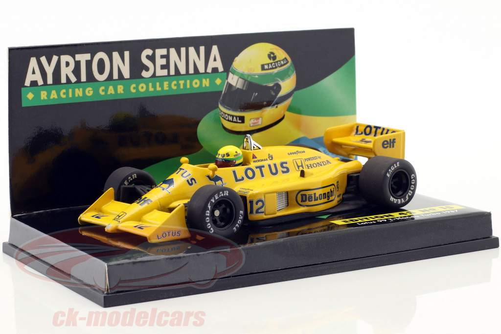 16-Car Set Ayrton Senna Racing Car Collection met certificaat 1:43 Minichamps