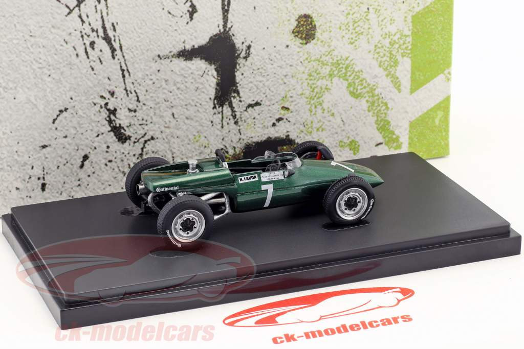 Kaimann Mk4 formula Vau #7 Niki Lauda Construction year 1969 green 1:43 AutoCult
