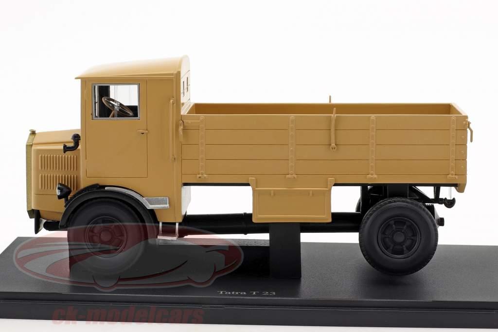 Tatra T23 Bouwjaar 1931 beige 1:43 AutoCult
