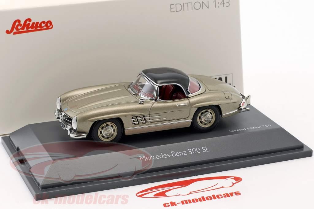 Mercedes-Benz 300 SL Hardtop champán 1:43 Schuco