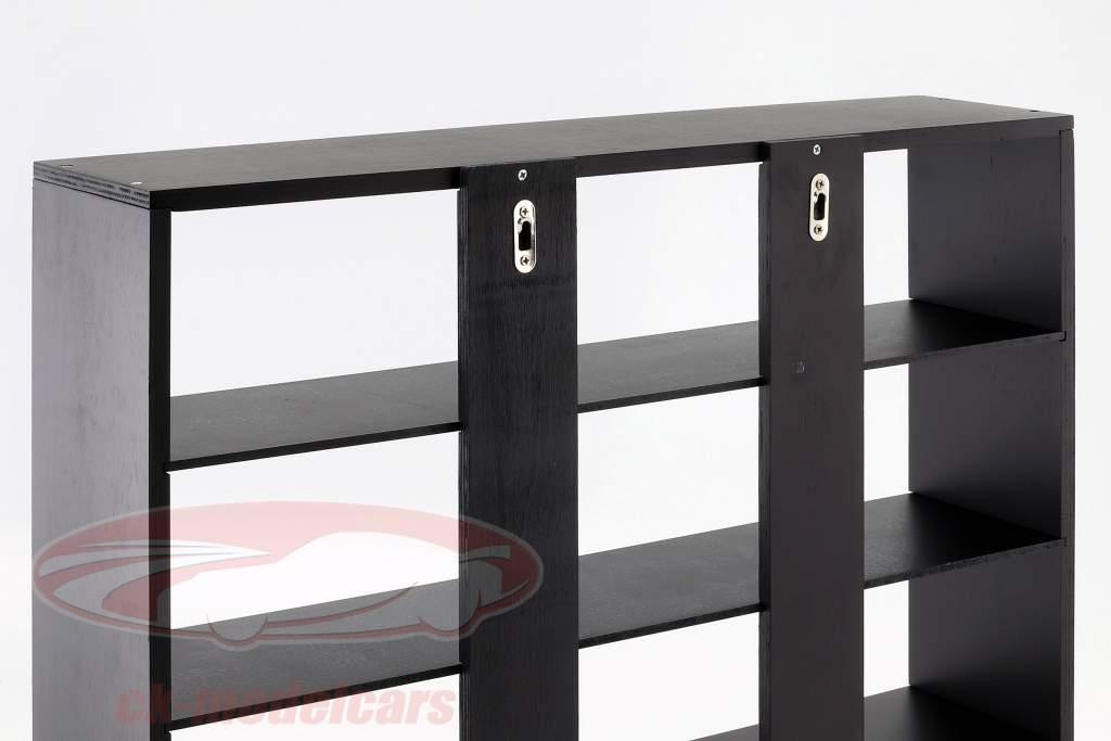 alto calidad de madera estante para modelo coches y miniaturas oscuro marrón 60 x 50 x 14,5 cm Atlas