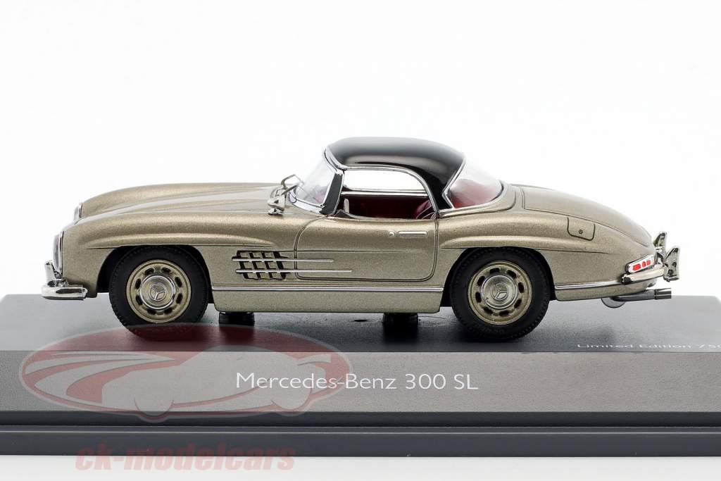 Mercedes-Benz 300 SL Hardtop champanhe 1:43 Schuco