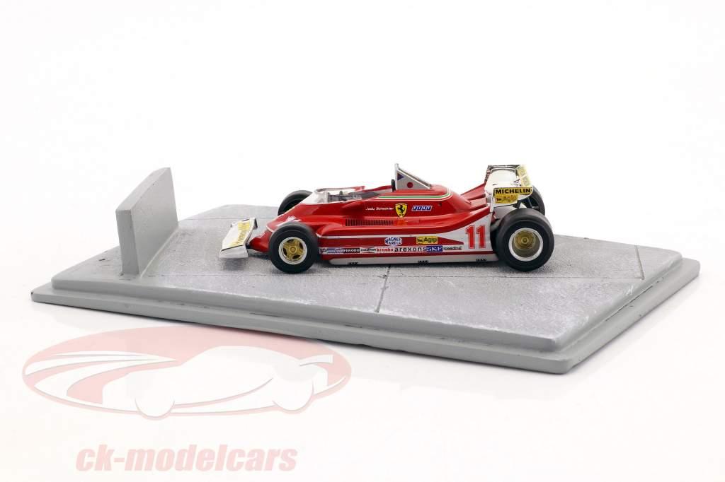 Diorama placa base hipódromo 16,5 x 10,5 cm