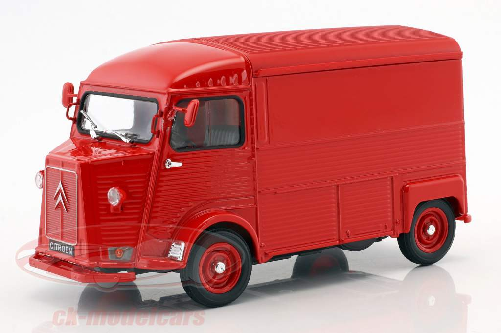 Citroen Type H year 1962 red 1:24 Welly