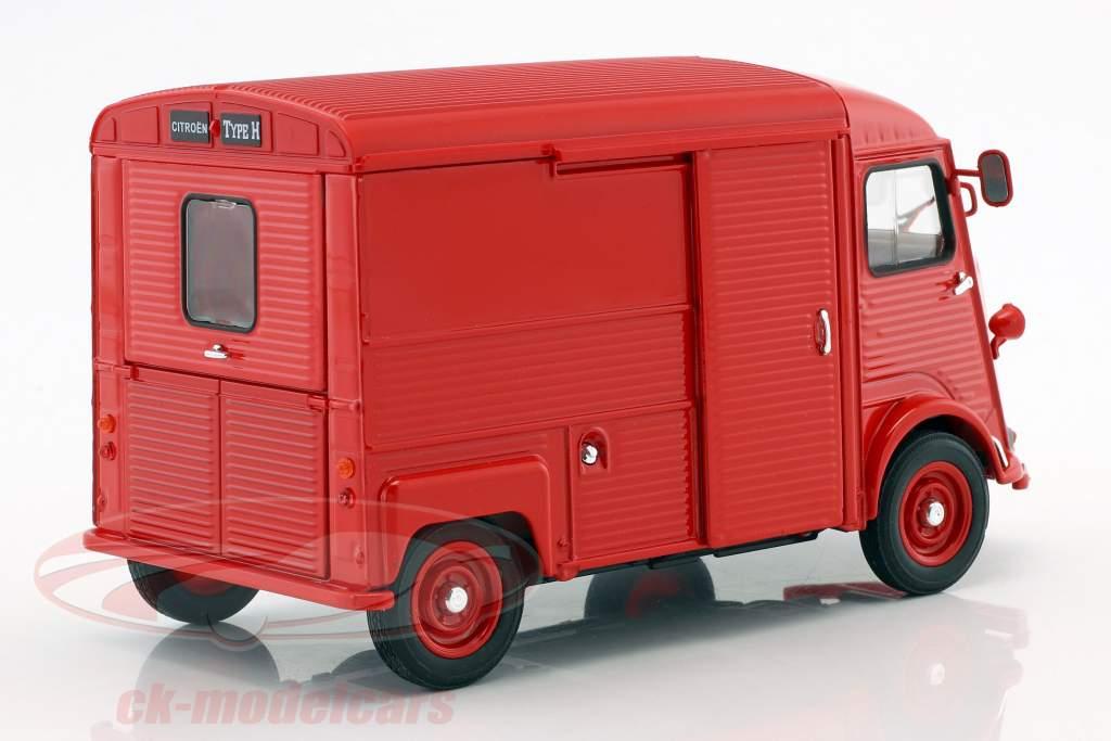 Citroen Type H Bouwjaar 1962 rood 1:24 Welly